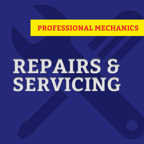 Repairs and servicing
